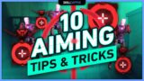 10 PRO TIPS to MASSIVELY IMPROVE YOUR AIM in Valorant