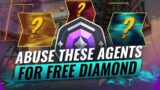 3 INSANE Agents to ABUSE For EASY DIAMOND – Valorant Act 3