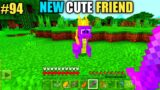 #94 | Minecraft | New Cute Dragon Friend Of Oggy And Jack | Minecraft Pe | In Hindi | Rock Indian ..