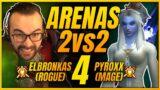 ARENAS 2V2 #4   ROGUE-MAGO   ELBRONKAS PVP SHADOWLANDS (PREPARCHE)