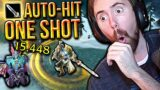 """Asmongold Reacts To Rextroy's """"AUTO-ATTACK ONE SHOT: Shadowlands Reckoning"""""""