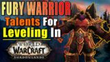 BEST Fury Warrior TALENTS for LEVELING in Shadowlands!! – World of Warcraft