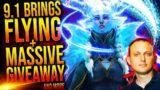 BIG Giveaway, Shadowlands FLYING, Future Balancing, Nathanos in Shadowlands + More