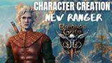 Baldur's Gate 3 Character Creation & Stream Test