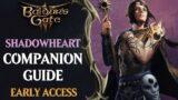 Baldur's Gate 3 Early Access Companions Guide: Shadowheart
