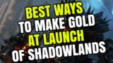 Best Ways To Make Gold At Launch Of Shadowlands | My Thoughts | WoW Gold Guide 9.0