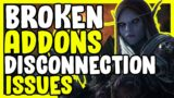 Broken Addons And Disconnection Issues In WoW Shadowlands – World Of Warcraft News