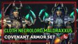 Cloth Necrolord Maldraxxus Covenant Armor Set – Shadowlands
