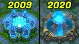EVOLUTION OF LEAGUE OF LEGENDS 2009-2020