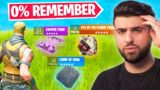 Fortnite Items NO ONE Remembers…