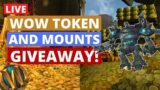 Giving Away Mounts and Wow Token | Wow Shadowlands Pre-Patch Gold Farming