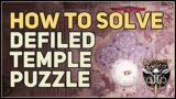 How to Solve Defiled Temple Stone Disc Puzzle Baldur's Gate 3