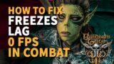 How to fix freezes lag Baldur's Gate 3
