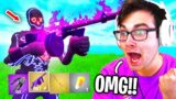 I only used the SHADOW MYTHIC DRUM GUN in Fortnite (Fortnitemares NEW UPDATE)