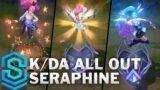 K/DA ALL OUT Seraphine Skin Spotlight – League of Legends