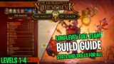 Low Level Build Guide for the Dungeon of Naheulbeuk Nightmare Difficulty   Levels 1-4