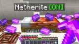 Minecraft Bedwars but there's infinite netherite everywhere…