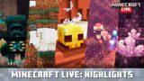 Minecraft Live: Update Highlights