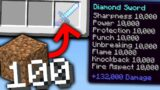 Minecraft UHC but you earn OP LOOT every 100 BLOCKS you MINE…