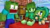 Monster School : Zombie Family Life- Minecraft Animation