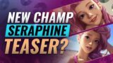 NEW CHAMP SERAPHINE LEAKED + TEASER? – League of Legends