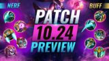NEW PATCH PREVIEW: Upcoming Changes List For Patch 10.24 – League of Legends Preseason 11