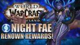 Night Fae Renown REWARDS! Mounts/Transmog/Pets/Titles & More | Shadowlands