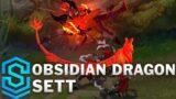 Obsidian Dragon Sett Skin Spotlight – League of Legends