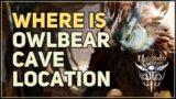 Owlbear Cave Location Baldur's Gate 3