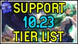 Patch 10.23 Support Tier list! NEW ITEMS! – League of Legends