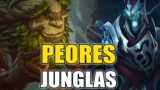 Peores Junglas Para Utilizar En League Of Legends