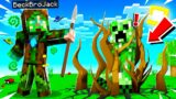 Playing as MAGIC DRUIDS in MINECRAFT! (strong)