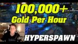 Shadowlands: 100,000+ Gold Per Hour Farm   HYPERSPAWN   Epic BOES  