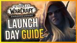 Shadowlands LAUNCH DAY GUIDE! First Steps In Shadowlands – Goodbye BFA.. Hello WoW Shadowlands!