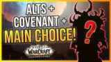 Shadowlands MAIN & ALT Choices + Covenants! What's Yours?! Reasons & Discussion | LazyBeast