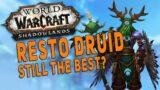 Shadowlands RESTO DRUID Still Best Dungeon Healer? | M+ Dungeon Gameplay Test (Night Fae) – WoW Beta