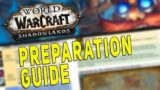 Shadowlands ULTIMATE PREPARATION GUIDE – Leveling, Maw, Torghast & Gear | Best WoW Resources