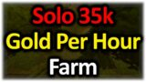 Solo 35,000g Per Hour Farm | WoW Goldmaking Guide Shadowlands Prepatch