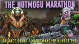 THE KOTMOGU MARATHON – MM Hunter / Balance Druid PvP (WoW Shadowlands Pre-Patch 9.0)