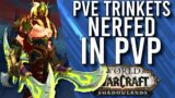 THIS IS GOOD! Powerful Trinkets Nerfed For PvP In Shadowlands Beta! –  WoW: Shadowlands Beta