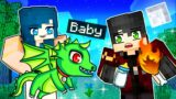 Taking care of Minecraft Baby Dragons!