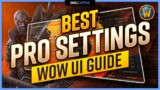 The BEST PRO SETTINGS for Shadowlands PvP | Graphics, Sound, Interface & More! | WoW UI Guide