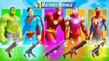 The *ULTIMATE* Fortnite Superhero Skin Challenge!