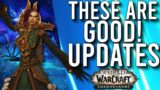 These Are Good! More Updates In Shadowlands Pre-Patch! –  WoW: Shadowlands 9.0