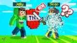 This TNT SHIELD BLOWS UP ANYTHING That TOUCHES IT! (Minecraft)