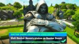 Visit Doctor Doom's statue as Doctor Doom Location – Fortnite (Doctor Doom Awakening Challenges)