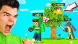 We Got TROLLED In SPEEDRUNNER vs. HUNTERS! (Minecraft)