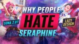 Why SO MANY League Players HATE Seraphine (Design, Kit, Lore) – League of Legends