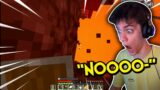 dani tries speedrunning minecraft for the first time