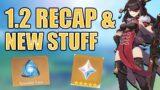 1.2 Recap | New Primogems Code, Craftable Weapons & More | Genshin Impact